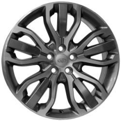 Jante Alu, Land Rover, Tritone , 8.5x20 Pouces, 5x120, ET47, 72,6mm, Anthracite Polished