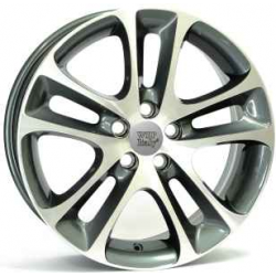 Jante Alu, Volvo , C30 Night , 7.5x18 Pouces, 5x108, ET52,5, 65,1mm, Anthracite Polished