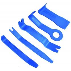 Outil de démontage garnitures portes, inserts tableau de bord
