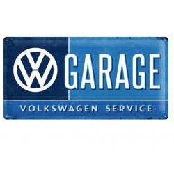 Plaque en tôle - Garage Volkswagen Service