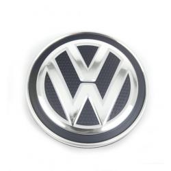 Cache moyeu noir et chrome d'origine VW Volkswagen