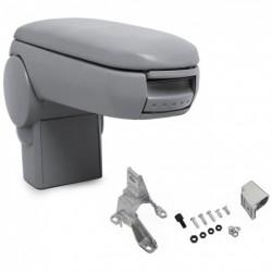 Accoudoir central en cuir gris - Vw - AUDI - SEAT - SKODA