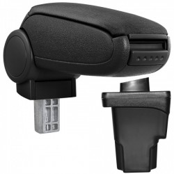 Accoudoir central en Tissu noir - Seat Leon 5F