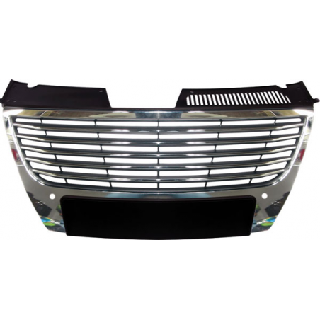 Front grille without initials black for Passat 3C