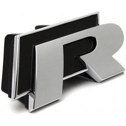 """Clip de calandre """"R"""" Golf 6"""