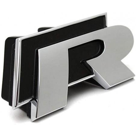 """Clip de calandre """" R """" Golf IV - 5K0853679CFXC"""