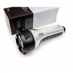 Lamp case of emergency Audi with seat belt cutter and breaks glass