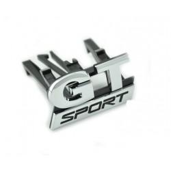 """Logo insigne """"GT Sport"""" pour calandre Golf 5"""