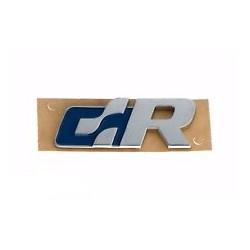 """Logo insigne """"R"""" Chrome et bleu"""