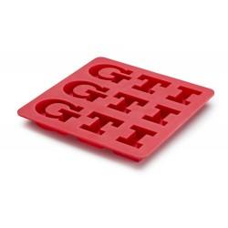 Bac à glaçons Vw GTI rouge