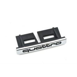 """Clip de calandre Audi """"Quattro"""" d'origine"""