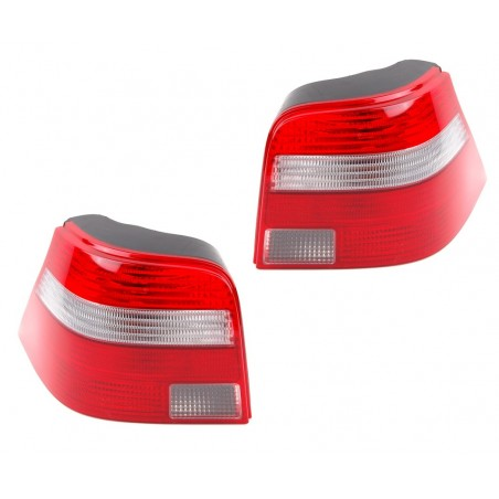 Lights Match 2 Golf IV Red and White