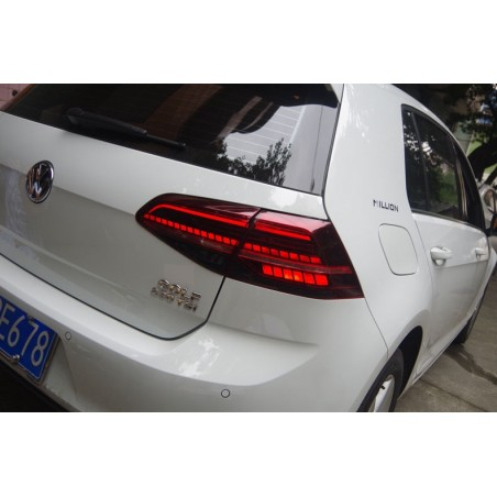 Led taillights Golf 7 GTI Facelift indicators dynamic