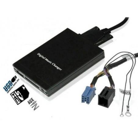 Boitier MP3,WMA,USB,SD pour autoradio d'origine Vw,Audi,Seat,Skoda