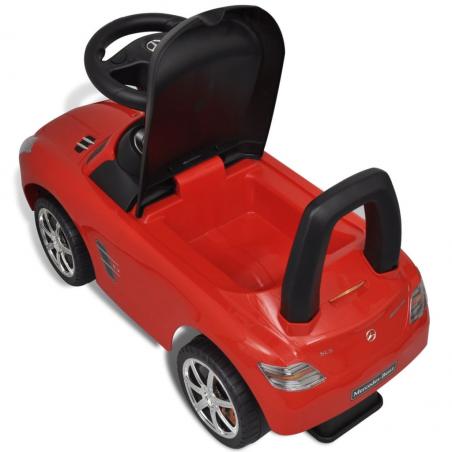 Voiture rouge pour enfants Mercedes Benz