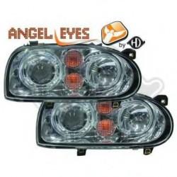 phares design, chrome, avec clign., régl. électr., Look Golf 4 GOLF 3