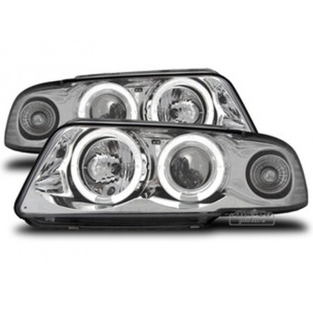 Projecteurs  avec 2 Angel Eyes  Audi A4 95-98