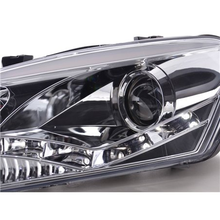 Phares Daylight pour VW Polo (type 6R) Année: 2010-  chrome