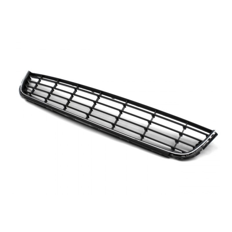 Grid of bumper with liseret chrome