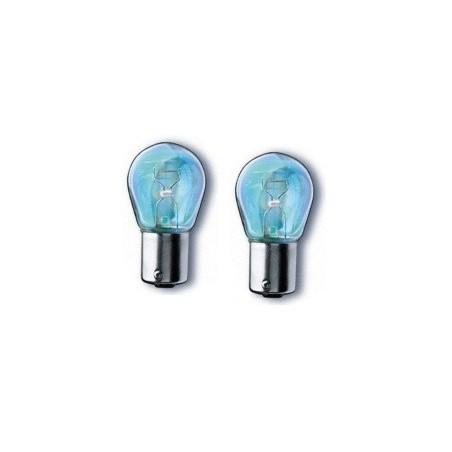 Ampoules de clignotant Bleuté (x2) - PY21W - BAU15S 21Watt - N10256402
