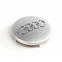 Cache moyeu Audi 5.7cm Gris clair