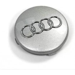 Cache moyeu Audi 5.7cm Gris argenté