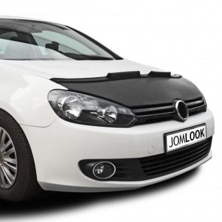 Bra de capot pour VW Golf 6 (09-11) simili cuir noir