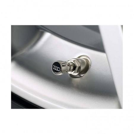 Bouchons de valve chrome Audi (x4) -  4L0071215